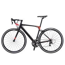 SAVADECK Aluminium Alloy Road Bike, R8 700C Carbon Fork Road