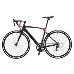 SAVADECK Aluminium Road Bike, R8 700C Carbon Fork Road Bicyc