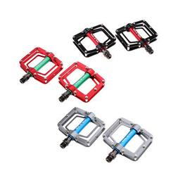 Aluminum Alloy Flat Platform Mountain Road Bike Pedals 9/16""