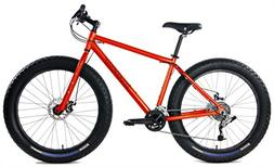Aluminum Fat Bikes with Powerful Disc Brakes Gravity Monster