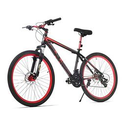 """URSTAR 26"""" Aluminum 24 Speed Mountain Bike with Front and Re"""