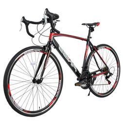 Aluminum Road Bike 21 Speed 700C Racing Bicycle  Disc Brakes