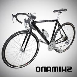 New 54cm Aluminum Road Bike Racing Bicycle 21 Speed Shimano