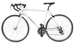Vilano Aluminum Road Bike 21 Speed Shimano, White, 50cm Smal