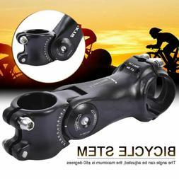 Angle Adjustable MTB Riser Stem Road Bike Cycling Head Up Ri