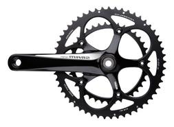 SRAM Apex Crankset 180mm White Logo 50-34 Black Rings GXP BB