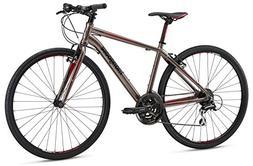 Mongoose Artery Comp Gravel Road Bike 700c Wheel, Silver, 20