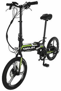 Vilano ATOM Electric Folding  Bike, 20-Inch Mag Wheels