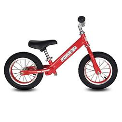 "Toddler Balance Bike, 12"" Tires Glider bike for Kids 2-5 Yea"