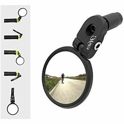 Bar End Bike Mirror, Stainless Steel Safe Rearview HF-MR083
