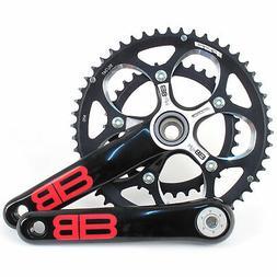 FSA BBright Aluminum Road/Triathlon Bike Crankset 50/34 10 S