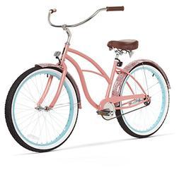 sixthreezero Women's Single Speed Beach Cruiser Bicycle, Pai