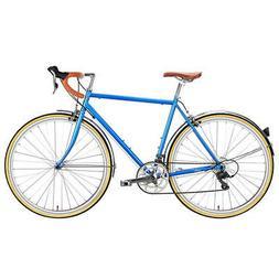 Bicycle City Troy 16v Blue Windsor 6KU Fixed Single Speed