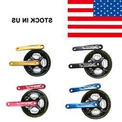 Bicycle Crankset MTB Mountain Road Bike Crank Sprocket 24/34