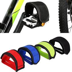 Fansport 2 Pairs Bicycle Feet Strap Bike Pedal Straps for Fi