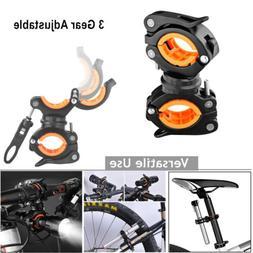 Bicycle Flashlight Holder Mount Torch Handlebar Clip Clamp B