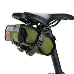 COTEetCI Bike Bags Under Seat Bicycle Pouch Bike Rack Mount