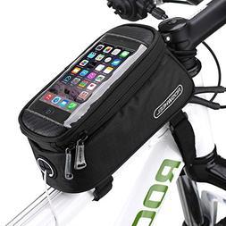 COTEetCI Bicycle Bike Frame Front Tube Beam Bag Transparent