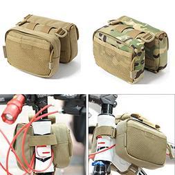 Bicycle Front Frame Tube Bag Saddle Pack Pouch Shoulder Bag
