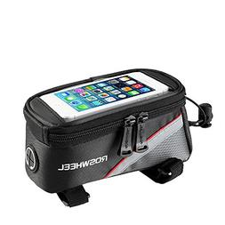 ROSWHEEL Bicycle Mobile Phone Pouch 5.5 inch Touch Screen To