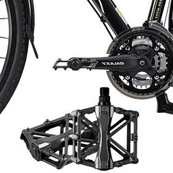 iHomeGarden Bicycle Pedals - Aluminum Alloy Mountain Bike Pe
