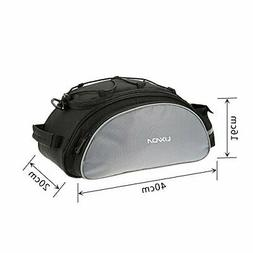 Lixada Bicycle Rack Bag 13L Waterproof Cycling Bike Rear Sea