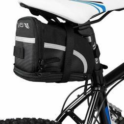 BV Bicycle Strap-On Bike Saddle Bag / Seat Bag /Cycling Bag,