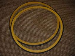 BICYCLE TIRES FIT ROAD BIKES 26 X 1 3/8  GUM WALLS