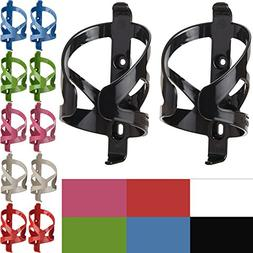 50 Strong Bike Water Bottle Holder 2 Pack - Made in USA - Ea