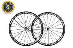 Superteam Bicycle Wheelsets Full Carbon Fiber UD Matte 700c