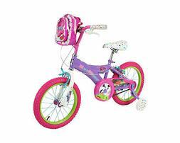 "Trolls Girls Bike Purple/Pink/White 16"""