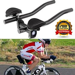 VAQM Bike Aero Bars Cycling Aero Bars Bike Rest Handlebar Bi