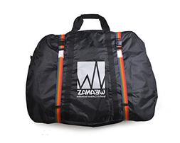 "Weanas Bike Airplane Flights Transport Bag 29"" w 2 Inner Poc"