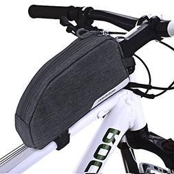 CestMall Bike Bag, MTB Bicycle Top Tube Bag, 1L Capacity Wat