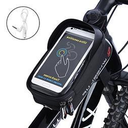 """Ejoyous Bike Bag, 6.0""""Touch Screen Portable Road Mountain Bi"""
