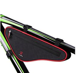 Bike Bag Triangle Bag, EKOOS Bicycle Frame Handlebar Bag Wat