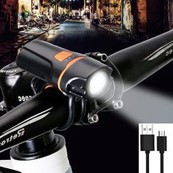 SpoLite Bicycle Lights, Powerful Lumens Bike Light,USB Recha