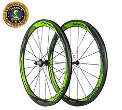 Sunrise Bike Carbon Fiber Road Wheelset Clincher Wheels 50mm
