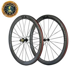 Sunrise Bike Carbon Road Wheels 700C 50mm Clincher Wheelset