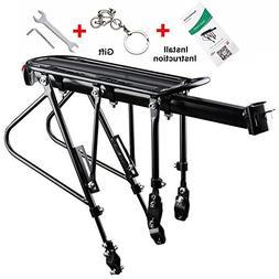 West Biking Bike Carrier Rack, 310 LB Capacity Solid Bearing