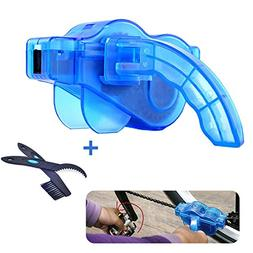 Bike Chain Cleaner Tool set with Rotating Brushes Bicycle Ac