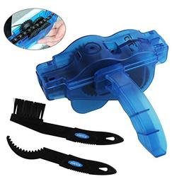 KKTICK Bike Chain Cleaner, Chain Scrubber Cleaning Tool With