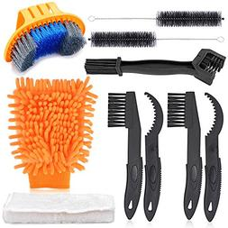 Oumers Bike Cleaning Tools Set , Bicycle Clean Brush Kit Mak