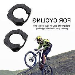 Bike Cleat Covers Set, 1 Pair Lightweight Plastic Road Bike