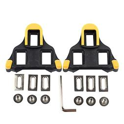 Beststar Bike Cleats - Self-locking Cycling Pedals Cleat - I