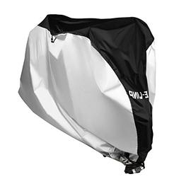 Bike Cover with Lock Hole, ELINP Outdoor Waterproof Bicycle