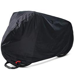 Ohuhu Bike Cover Waterproof Outdoor Bicycle Storage Covers A