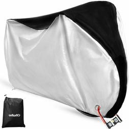 Ohuhu Bike Cover Waterproof Outdoor Bicycle Cover for Mounta