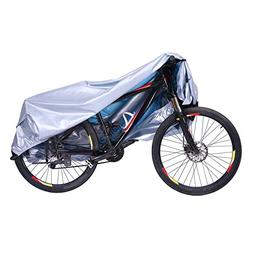 HDE Bike Cover Waterproof UV Protection Outdoor Indoor Bicyc