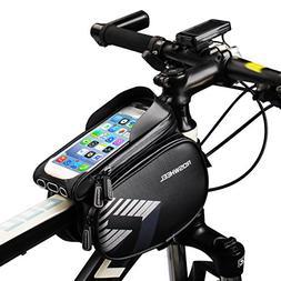 FlexDin MTB Bike Frame Bag Cycling Bicycle Head Top Tube Pan